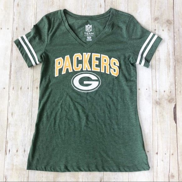competitive price b1953 345bb NFL Apparel Women's Green Bay Packers Tee sz M